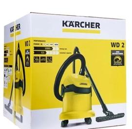 Профессиональный пылесос KARCHER WD 2, 1000 Вт