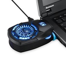 Протативный охлаждающий дополнительный кулер для ноутбука