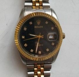 Rolex привозили с Польши крытый часы новые