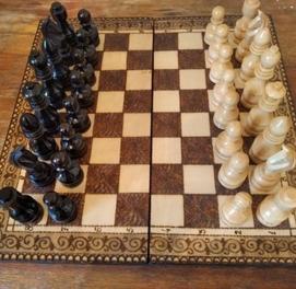Шахматы нарды Ручной Работы идеальный подарок