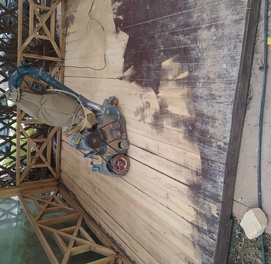 Шлифовка пол паркент 220-волт