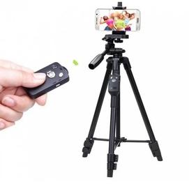 Штатив телескопический с пультом для камеры и телефона VDT 5208 Tripod
