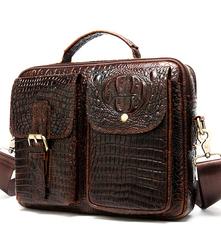 сумки из натуральной кожи с текстуром крокодиловое кожа