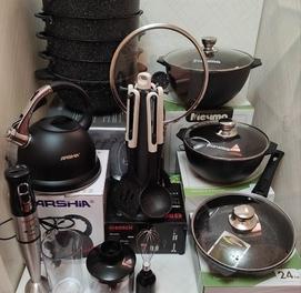 Суппер праздничные скидки гранитовый посуды фирма Мечта Россия.
