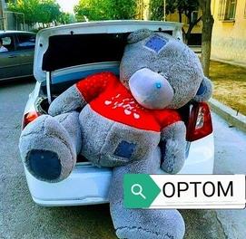 Teddy Teddi 1+1 Aksiya Optom Narxda Teddy va Boshqa Yumshoq O'yinchoql