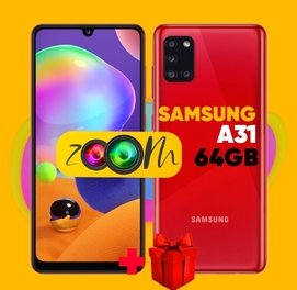 Телефон Samsung A31 64GB + ГАРАНТИЯ + ДОСТАВКА