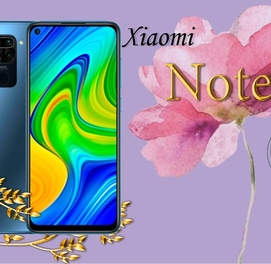 Телефон в кредит Redmi Note 9 (64Gb) +ПОДАРОК