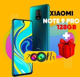 Телефон в кредит Redmi Note 9 PRO (128 ГБ) + СУПЕРПОДАРОК