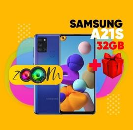 Телефон в кредит Samsung A21S (32Gb) + ПОДАРОК