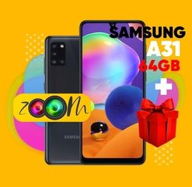 Телефон в кредит Samsung A31 (64Gb) + ПОДАРОК