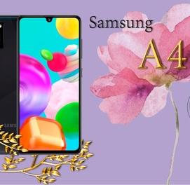 Телефон в кредит Samsung A41 (64Gb) +ПОДАРОК