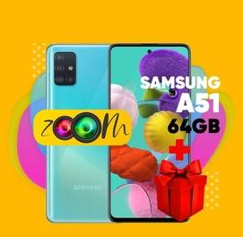 Телефон в кредит Samsung A51 (64Gb) + ПОДАРОК