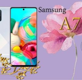 Телефон в кредит Samsung A71 (128Gb) +ПОДАРОК