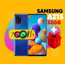 Телефон в рассрочку Samsung A21S 32 Гигабайта + СУПЕР ПОДАРОК