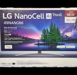 """Телевизор NanoCell LG 49NANO866 UHD Smart 49"""" (2020)"""