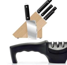 Точилка для ножей для глубокой, окончательной заточки и поливорки