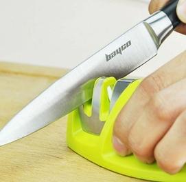 Точилка для ножей прекрасный помощник на кухне заточка + полировка