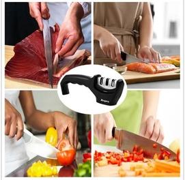 Точилка для заточки ножей 3 ступени точилки керамика+алмазь+вольфрам