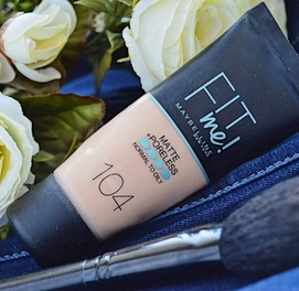 Тональный крем Maybelline Fit Me Matte Poreless Foundation