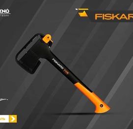 Топор универсальный Fiskars S X10 X-series