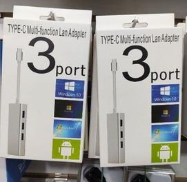 TYPE-C концентратор Быстрый Ethernet адаптер RJ45 200mbps