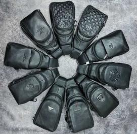 Удобная Мужская сумка через плечо барсетка, повседневная папка