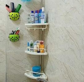 Угловая полка для ванной комнаты Multi Corner Shelf 320см