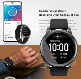 Умные часы Haylou Smart Watch Solar (черный) (LS05) Доставка есть