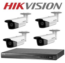 Установка камера видео наблюдения Hikvision