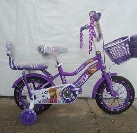 Велосипед Новый принцесса 12 размер
