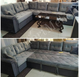 Вместительный комфортный угловой диван по цене производителя!