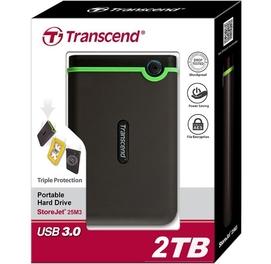 Внешний Жесткий Диск HDD TRANSCEND 2TB USB 3.0