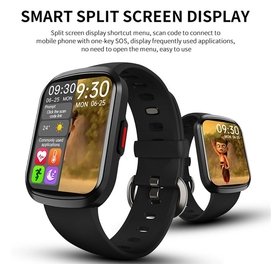 W13 1.57in Смарт-часы сердце-Rate монитор полный экран-Touch Фитнес