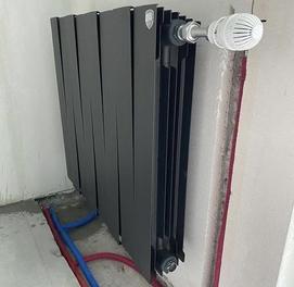 Замена радиаторов, отопления, теплый пол