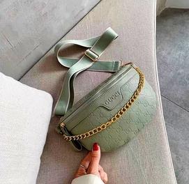 Женская сумка бананка клатч