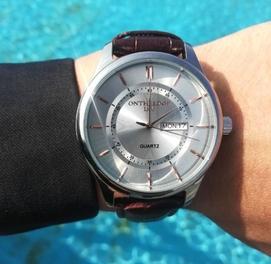 ЖИВЫЕ ФОТО! Оригинальные, Мужские Наручные Часы бренда Ontheadge